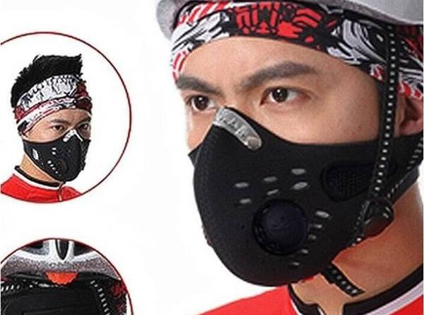 masque anti pollution cycliste