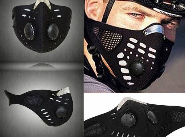 masque entier pollution