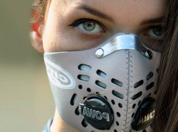 masque anti pollution squelette
