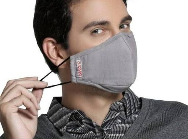masque contre la pollution